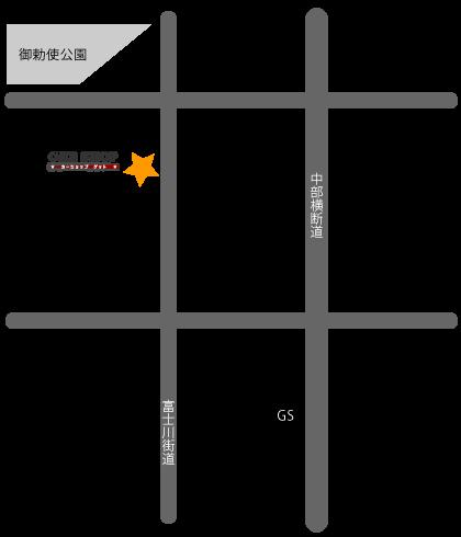 カーショップGET地図